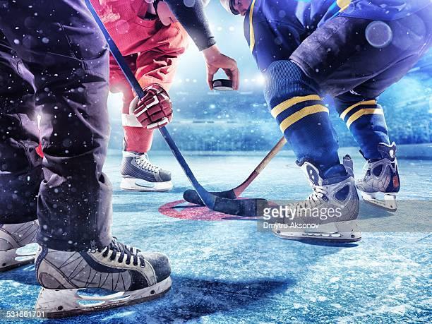 Eishockey-Spiel starten
