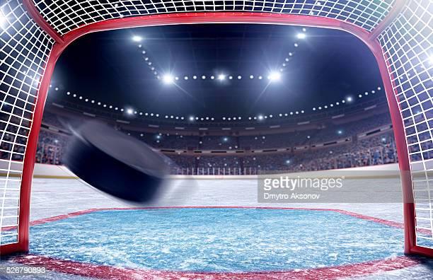 Eishockey-Tor Tor Blick