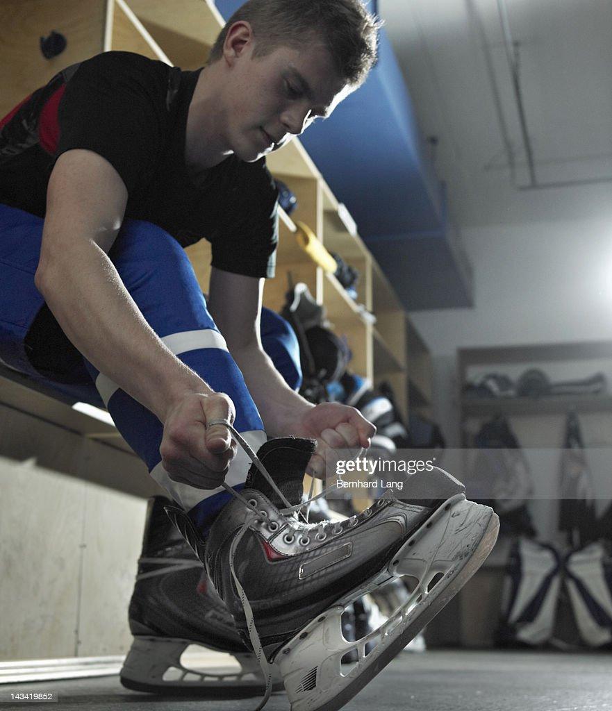 Ice hockey player : Stock Photo