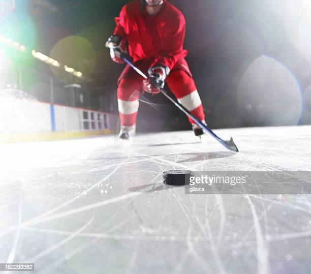 Ice hockey-Spieler.