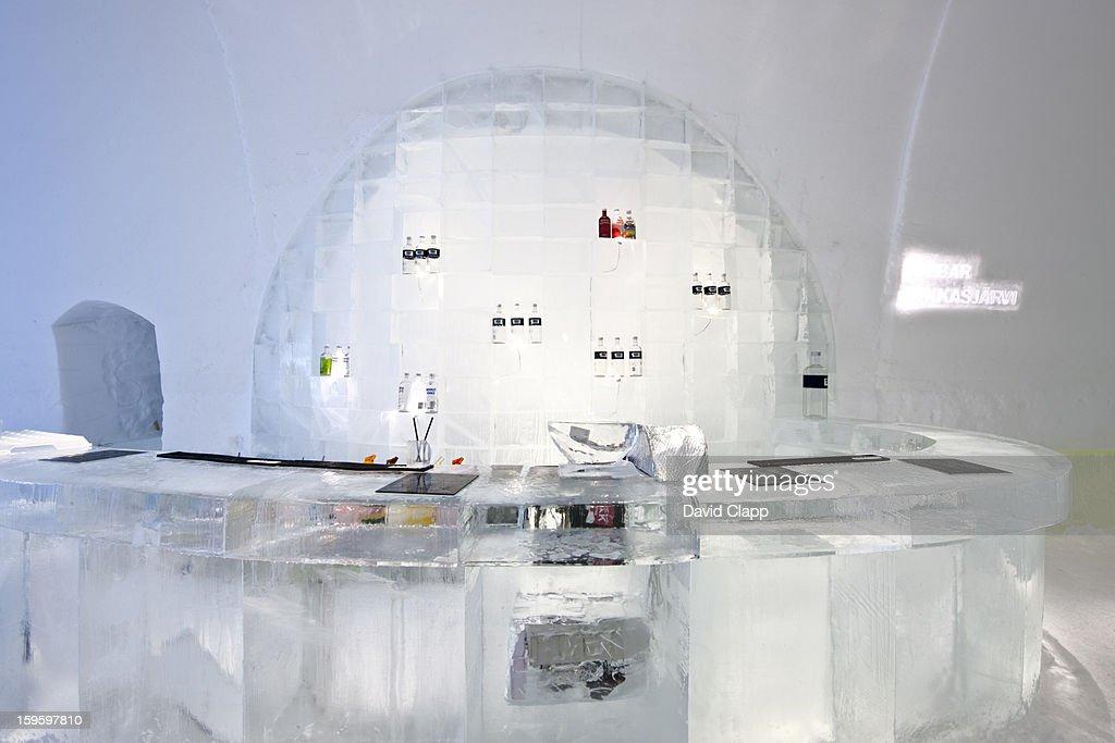 Ice Hotel, Kiruna, Sweden : Stock Photo