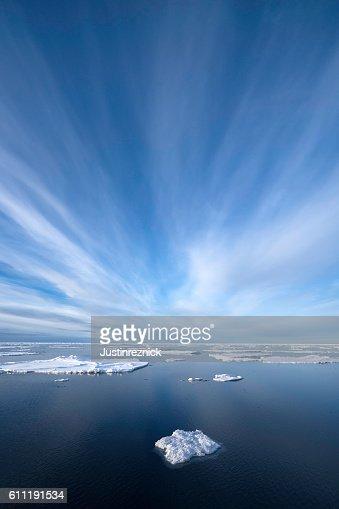 Ice in Arctic Ocean