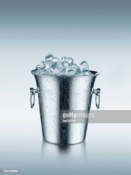 Ice in bucket