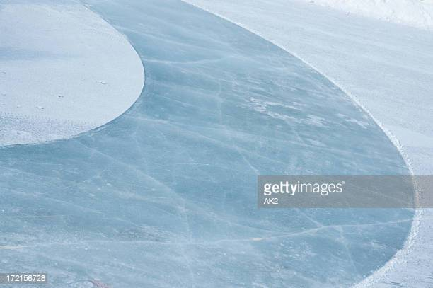Ice rink abstract