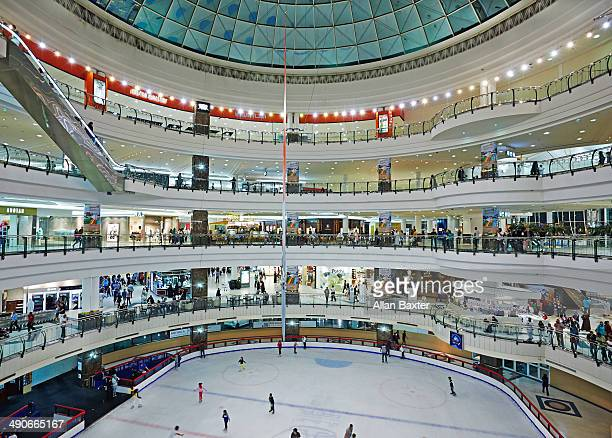 Ice rink at City Centre mall in Doha