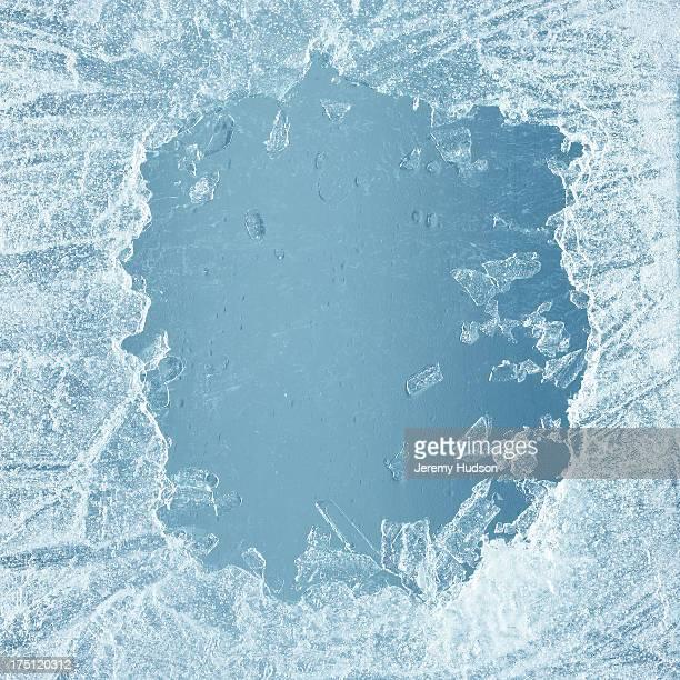 Ice sheeting