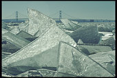Ice Sheets on Mackinac Island