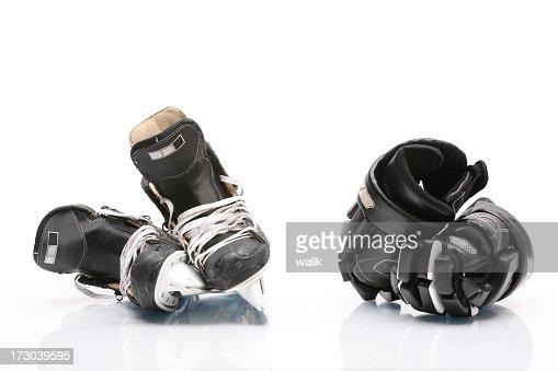 Ice Skate & gloves