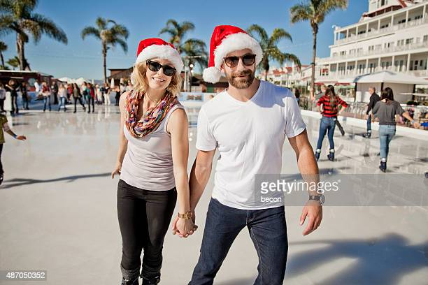 Ice Skating on Tropical Vacation