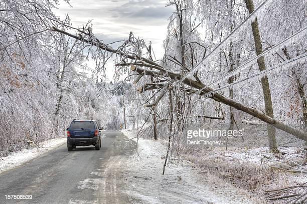 Ice Storm Gefahr