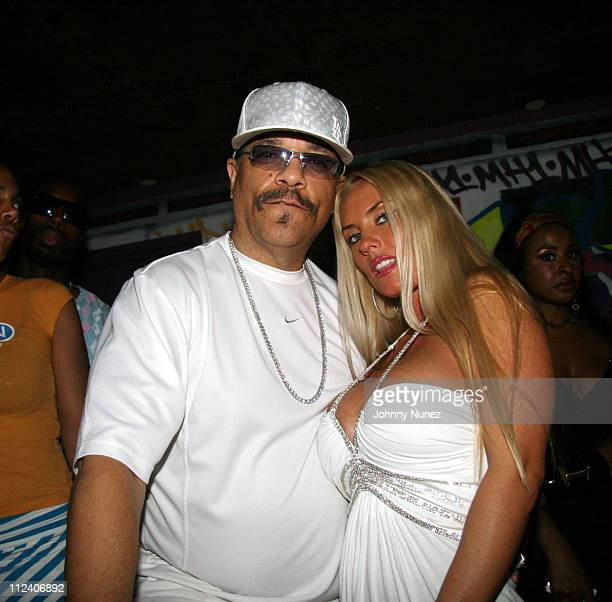 Ice T and CoCo during VH1 Soul Presents Kelis was Here VIP Room Inside at Crobar NYC in New York New York United States