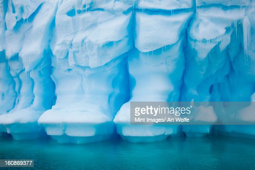 Iceberg, Antarctica : Stock Photo
