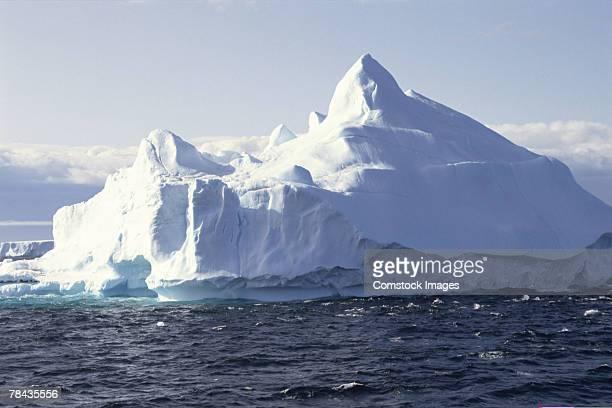 Iceberg in ocean , Antarctica