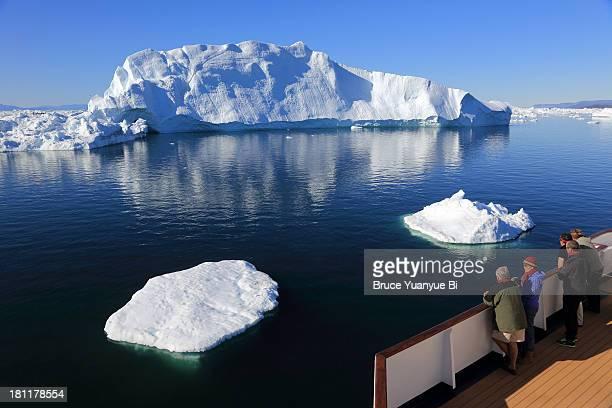 Iceberg in the sea