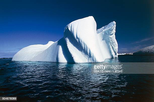 Iceberg near the Ukrainian Station Akademik Vernadsky Antarctic Peninsula Antarctica