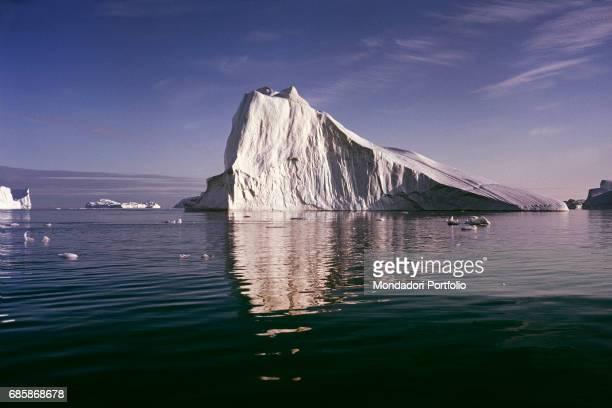 Iceberg near the western coast of Greenland Greenland 1962