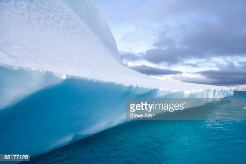 Iceberg, Northwest Fjord, Greenland : Stock Photo