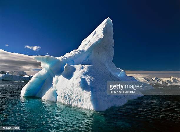 Iceberg Paradise Harbour Antarctic Peninsula Antarctica