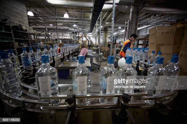 Iceberg Vodka factory in St John's Newfoundland As more icebergs drift south due to climate change a few enterprising seafarers have begun harvesting...