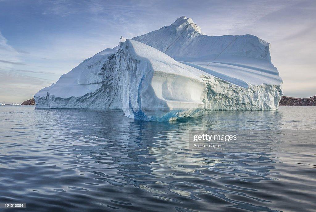 Icebergs, Scoresbysund, Greenland