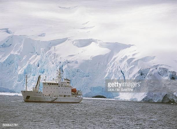 Icebreaker Paradise Bay Antarctic Peninsula Antarctica