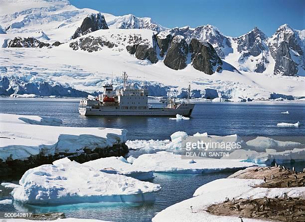 Icebreaker Petermann Island Antarctic Peninsula Antarctica