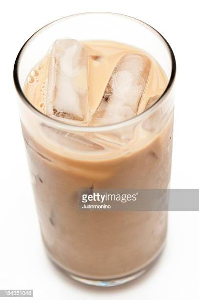 Eisbedecktes Cappuccino