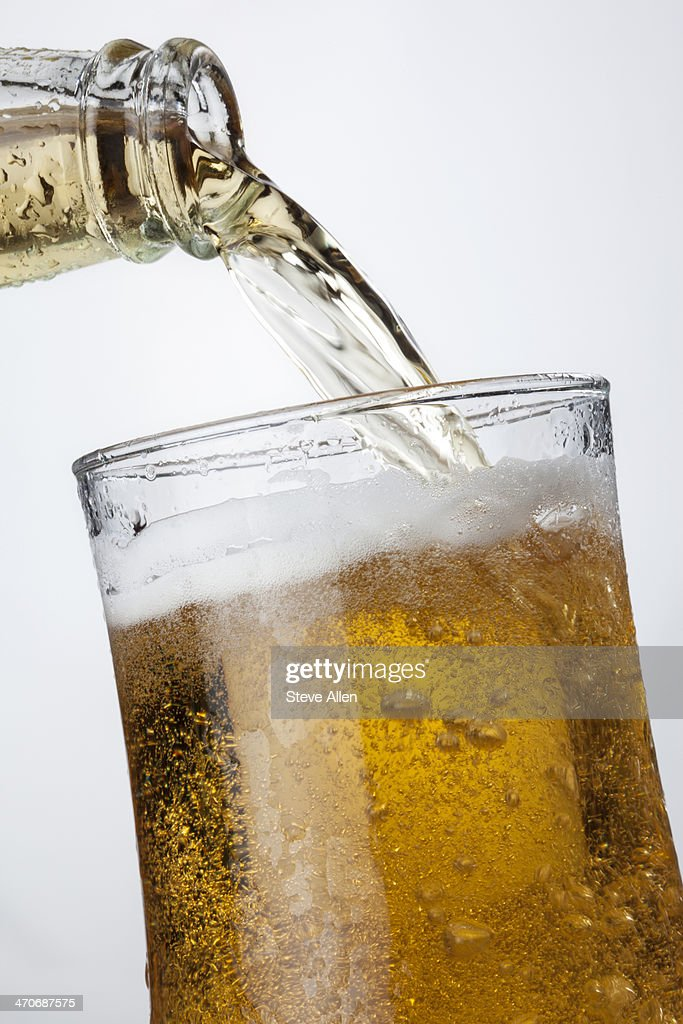 Iced cool beer : Stock Photo