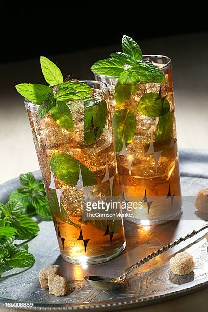 Iced Morrocan Mint Tea