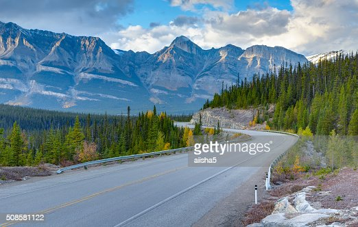 Icefields Parkway, Canada : Stock Photo