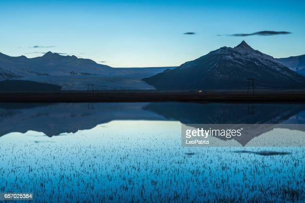 Iceland - Amazing natural reflections on the water