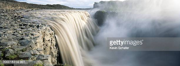 Iceland, Dettifoss Waterfall (blurred motion)