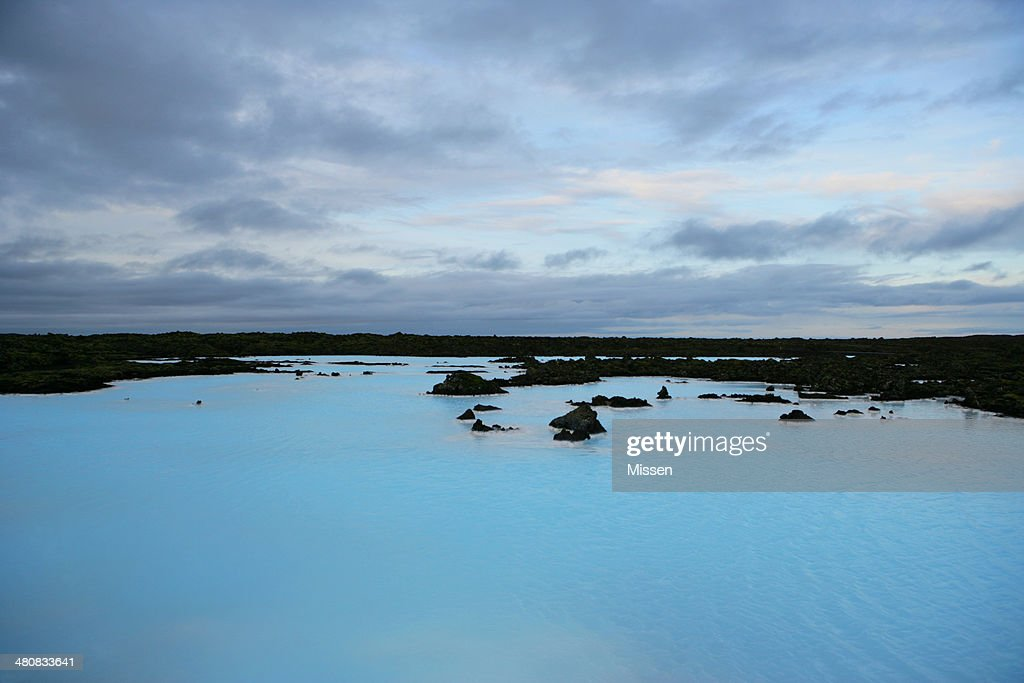 Iceland, Grindavik, Blue Lagoon : Stock Photo