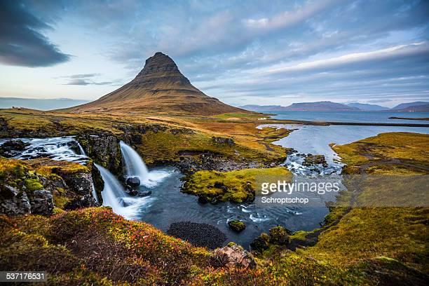 Island Landschaft Kirkjufell