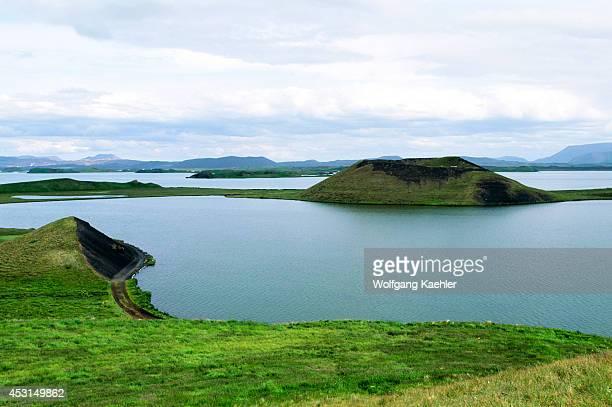 Iceland Myvatn Lake Pseudo Craters