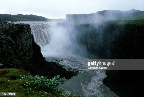 Iceland Northern Part Dettifoss Waterfall