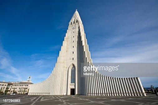Iceland Reykjavik Hallgrimskirkja