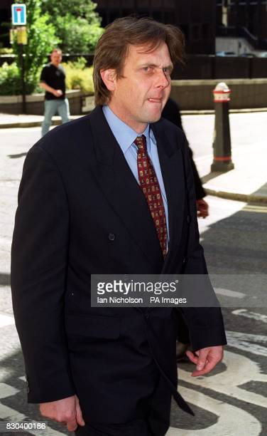 Iceland store manager Paul Maskell leaves the Old Bailey in London where he was giving evidence in the case of nail bomber David Copeland Mr Maskell...