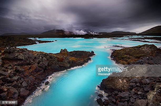 Iceland, view to Blue Lagoon