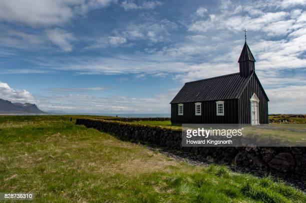 Icelandic church inn isolated location