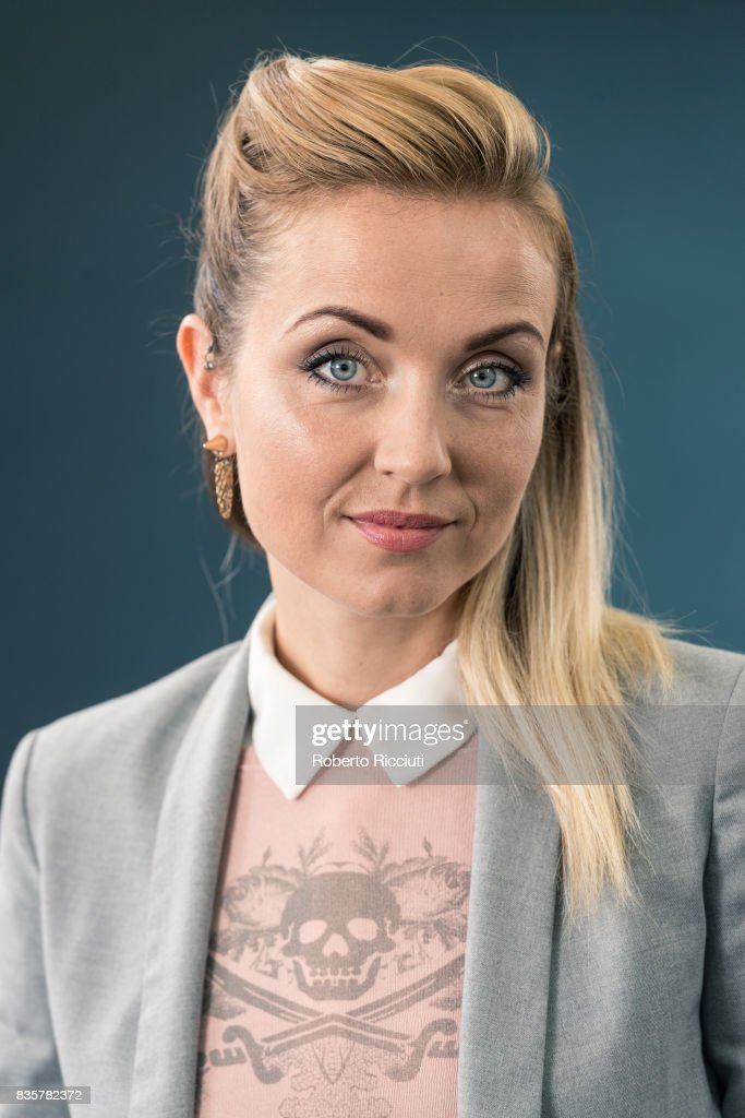 Icelandic playwright, author and activist Thordis Elva attends a photocall during the annual Edinburgh International Book Festival at Charlotte Square Gardens on August 20, 2017 in Edinburgh, Scotland.