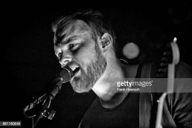 Icelandic singer Asgeir Trausti performs live on stage during a concert at the Festsaal Kreuzberg on May 9 2017 in Berlin Germany