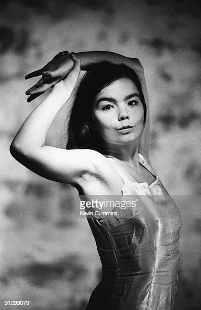 Icelandic singer songwriter and actress Bjork circa 1993