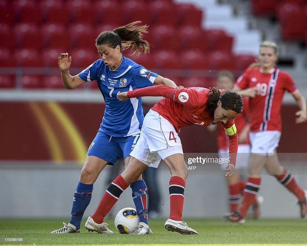 Norway v Iceland - UEFA Women's Euro 2013: Group B