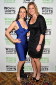 Iceskater Sarah Hughes attends the 32nd Annual Salute To Women In Sports Gala at Cipriani Wall Street on October 19 2011 in New York City