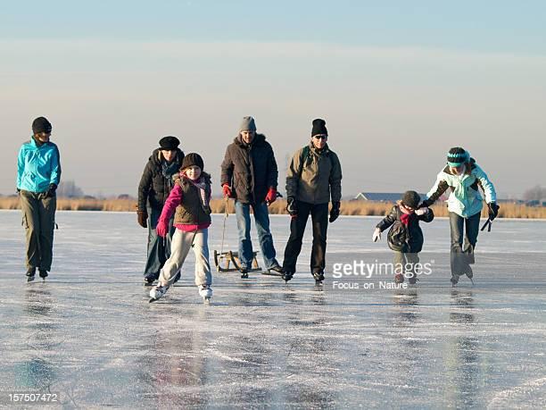Serie di pattinaggio su ghiaccio
