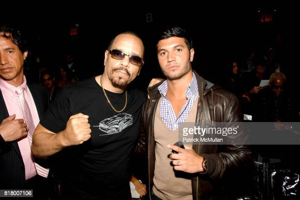 IceT and Brian Mazza attend Richie Rich 2011 Fashion Show at The Studio at Lincoln Center on September 9 2010 in New York City