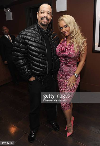 IceT and Coco attend the after party for the premiere of 'Brooklyn's Finest' at on March 2 2010 in New York City