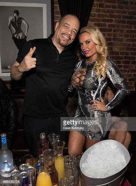 IceT and Coco Austin attends Coco Austin's Birthday Party at The Leonora on April 11 2015 in New York City
