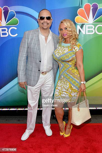 IceT and Coco Austin attendThe 2015 NBC Upfront Presentation at Radio City Music Hall on May 11 2015 in New York City